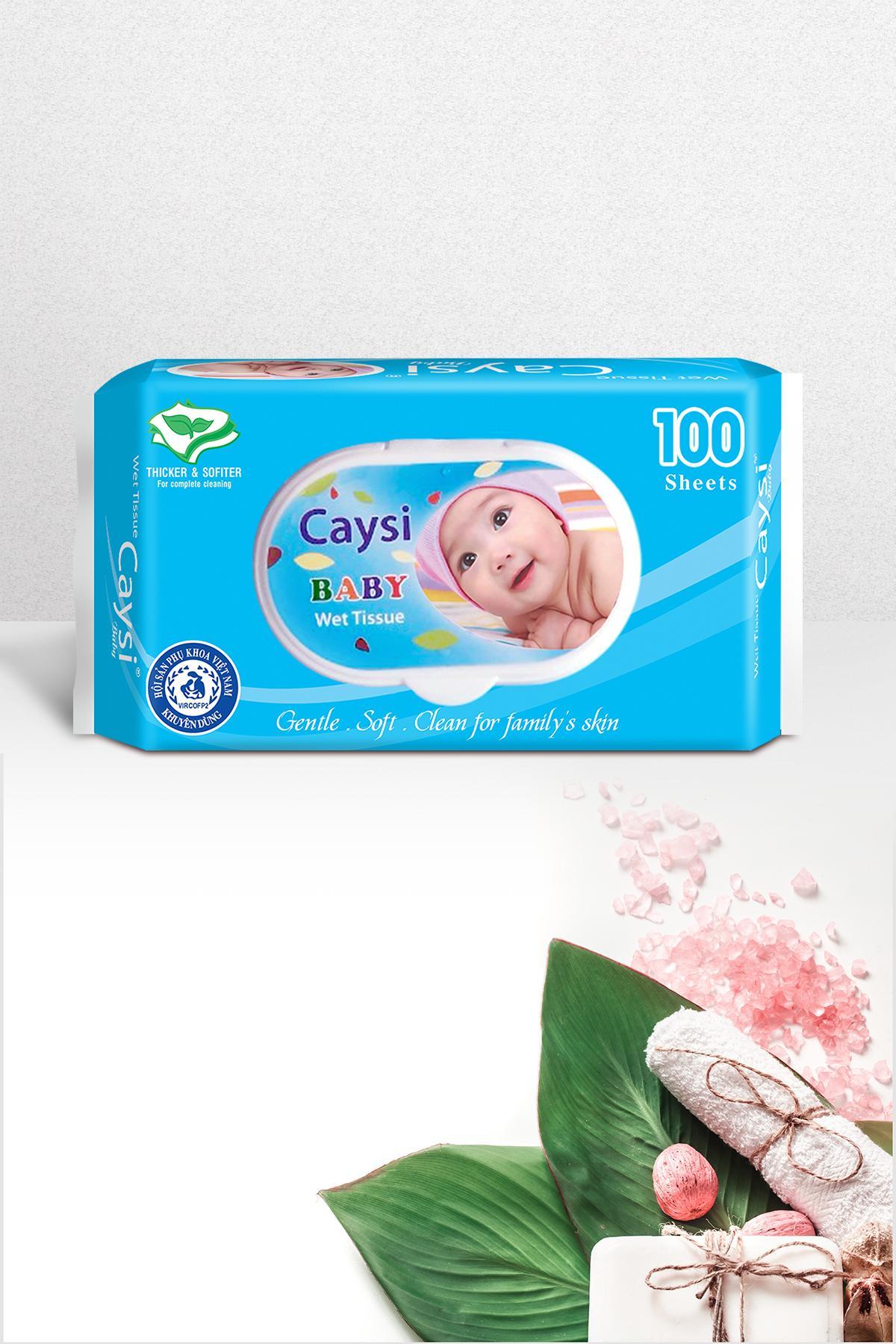 Khăn ướt Caysi 100, 8938501566126